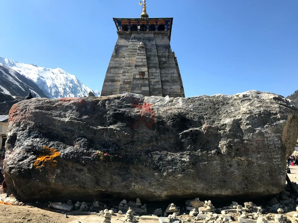Kedarnath temple, one of the Chota Char Dham yatra