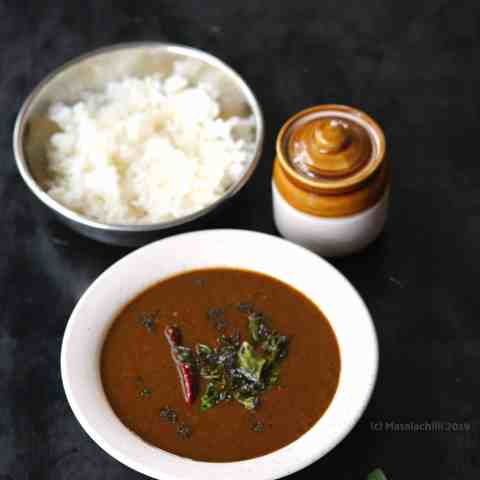 Milagu Kuzhambu - South Indian Black Pepper Gravy