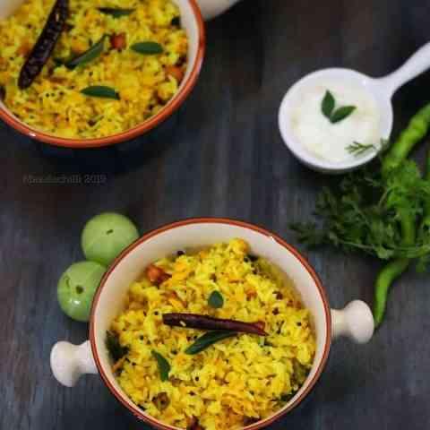 Nellikai Rice or Nellikai Sadam Recipe