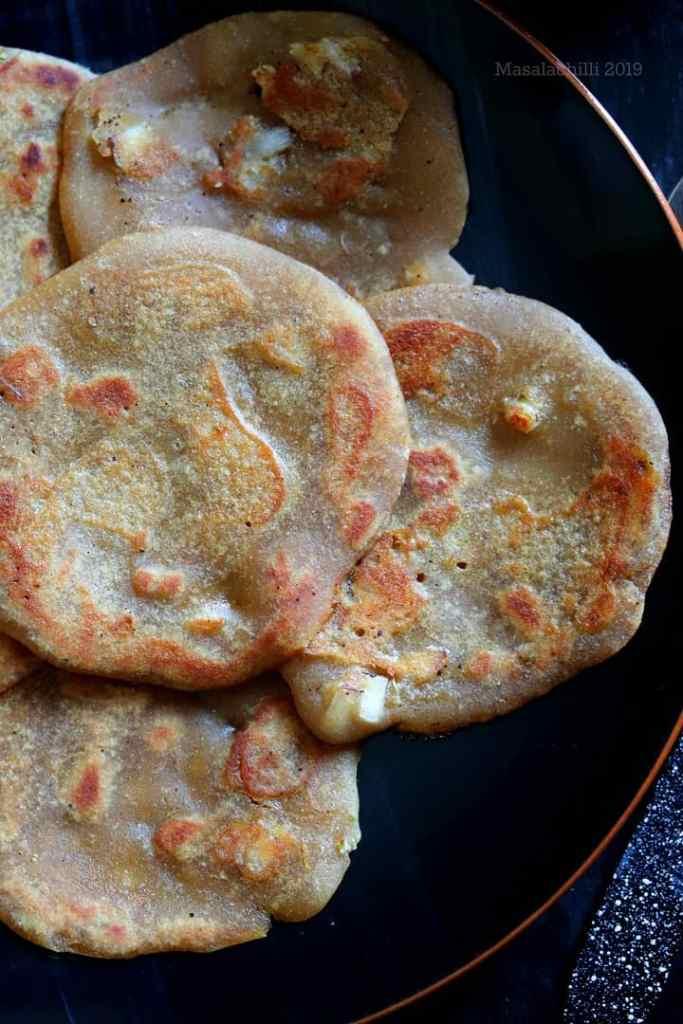 Vella Dosai - Wheat Jaggery Dosa, Jaggery pancake