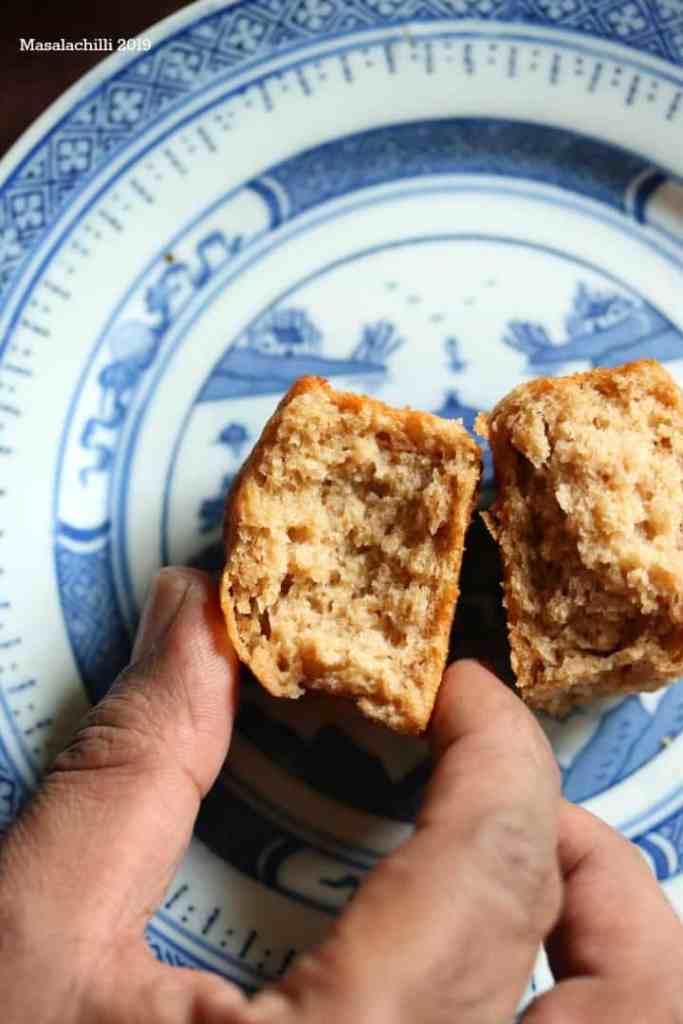 Soft Dinner rolls or Whole Wheat Pav