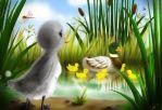 Çirkin Ördek Yavrusu Masalı