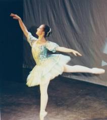 A former ballet dancer