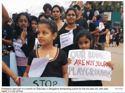 Bangalore; rape;
