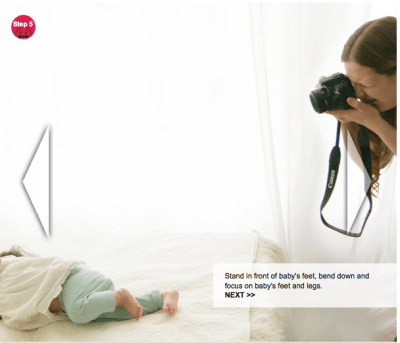 steps to capture baby moments