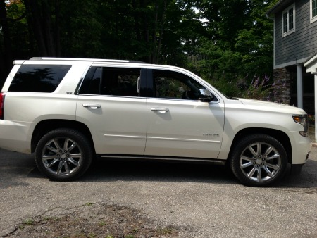 Cottaging with Chevrolet Tahoe