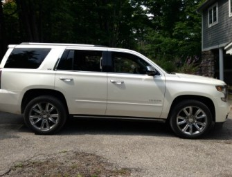 On the Road to Muskoka with 2015 Chevrolet Tahoe:A Review