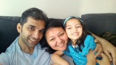 Sanober Bukhar family