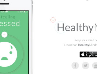 App Teaches Healthy Thinking Skills for Mental Health