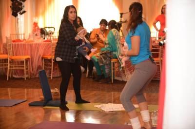 Yoga Demo with teacher Rishma  Malik