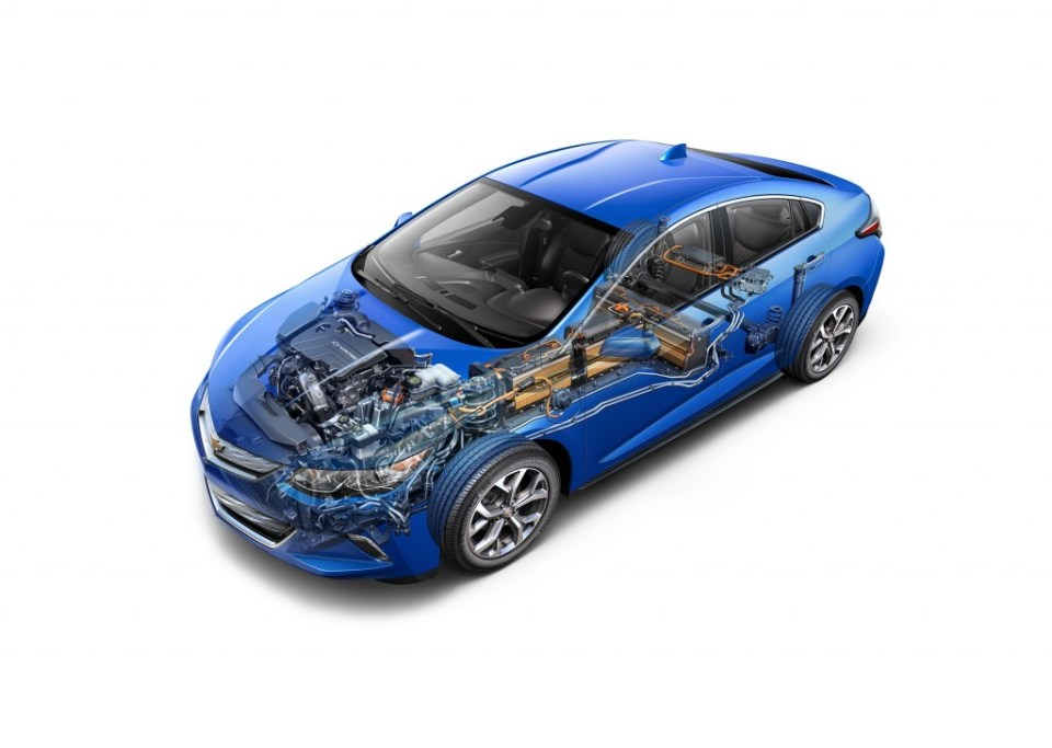 2016 Chevrolet Volt features an all-new Voltec propulsion system