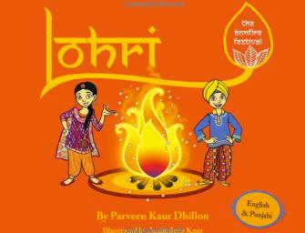 """Lohri: The Bonfire Festival""  Book Teaches Kids About Lohri"