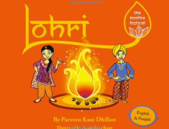 """Lohri: The Bonfire Festival""  Book Teaches Kids About Lohri"