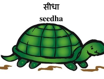 Teaching Hindi: Opposites