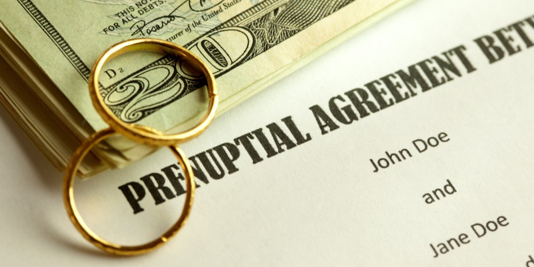 Prenuptial Agreements To Sign Or Not To Sign