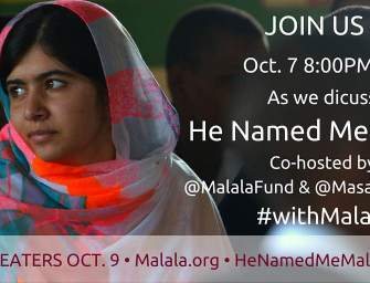 Let's Talk About Malala! Twitter Chat