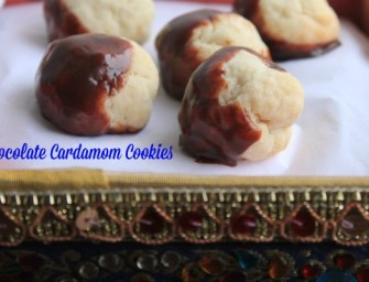 Recipe: Chocolate Cardamom Cookies