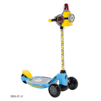 Minions 3 Wheel Scooter