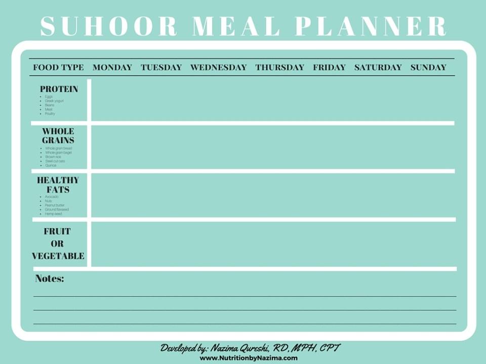 SUHOOR MEAL PLANNER (1)