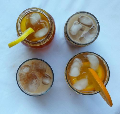 all iced teas - from top