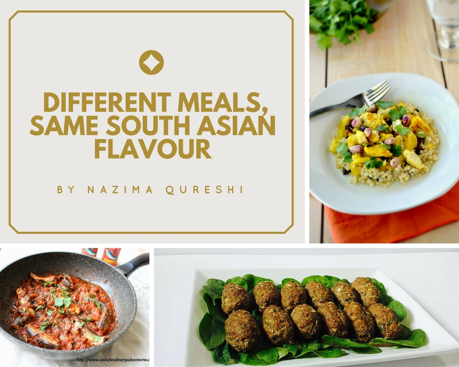 South Asian food ideas