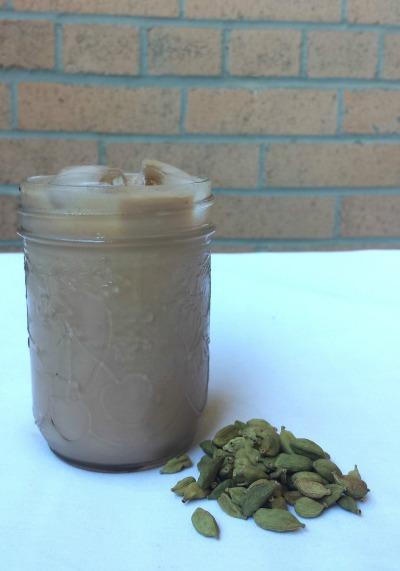 iced cardamom chai