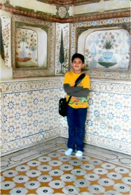 India travel with kids