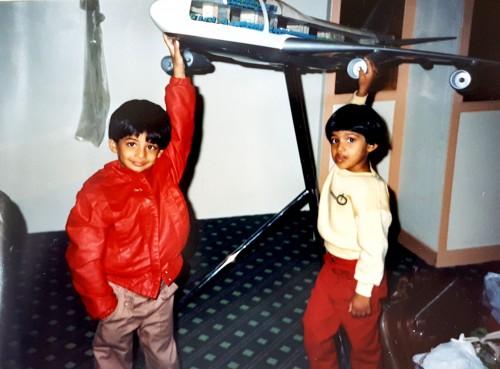 Shawna pandya childhood