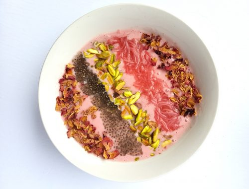 falooda dessert inspired recipe