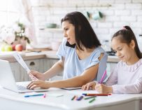 What kids learning from parents working from home during COVID-19 pandemic