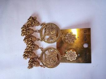 Medium Golden Earrings