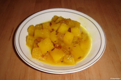 pineapple-chutney