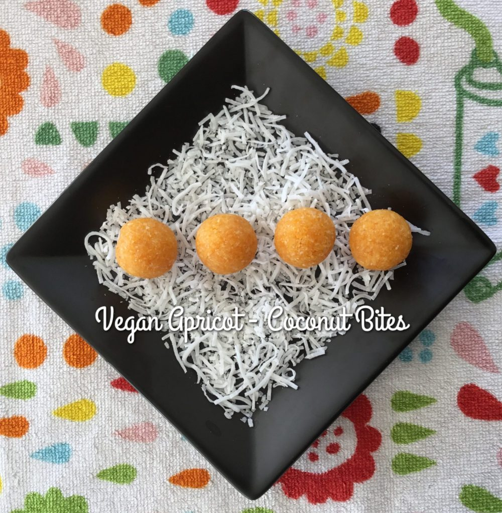 3 Ingredient Apricot Coconut Bliss Balls