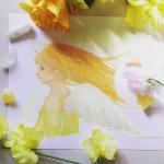 天使ア―トご感想「眺めていると嬉しくてふるふると心が震えます。」