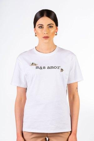 t shirt bianca gioiello