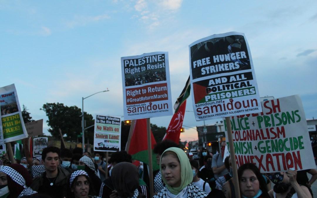 Masar Badil: Nous soutenons le mouvement des prisonnier·e·s palestinien·ne·s et le réseau Samidoun