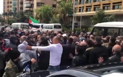 المسار البديل: اعتداء أمن السفارة الفلسطينية على شعبنا في بيروت جريمة وتجاوز لكافة الأخلاق والقيم الوطنية.