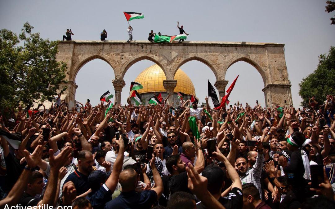 زمان الوصل: «سيف القدس» يجترح الأفق الجديد — دعاء علي،شاكر جرّار
