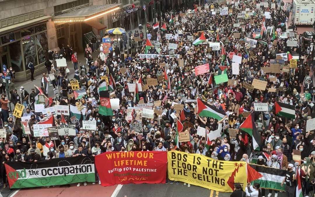 فلسطين: الشَعب يُعيدْ تصويب البوصلة.. ماذا بعد؟  —  خالد بركات