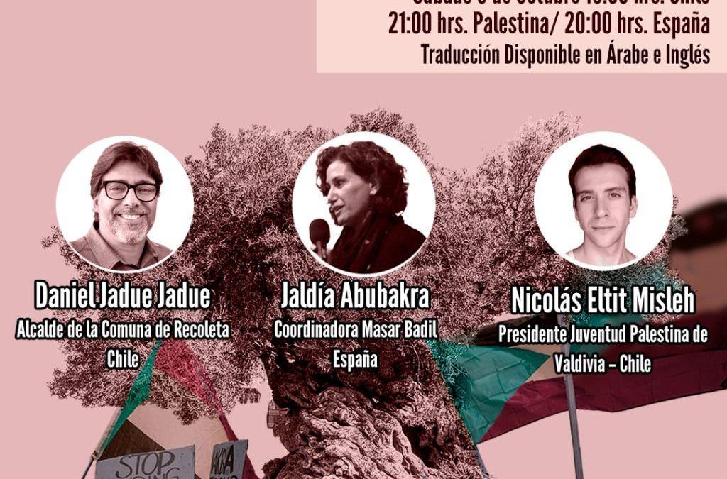 9 de octubre: Análisis y perspectivas de la actualidad sociopolítica en Chile y sus relaciones con la lucha por la liberación de Palestina