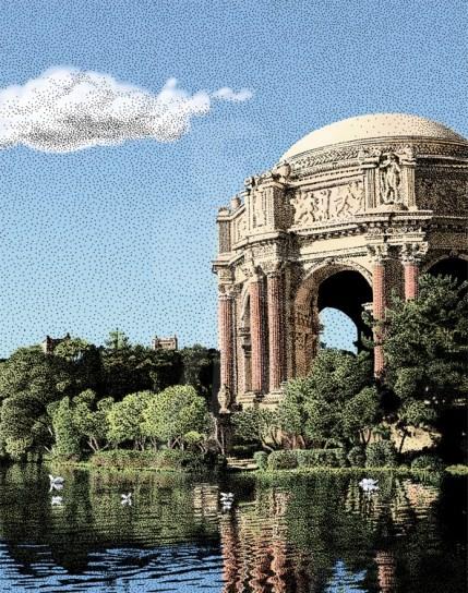 Palace of Fine Arts, San Francisco - Color