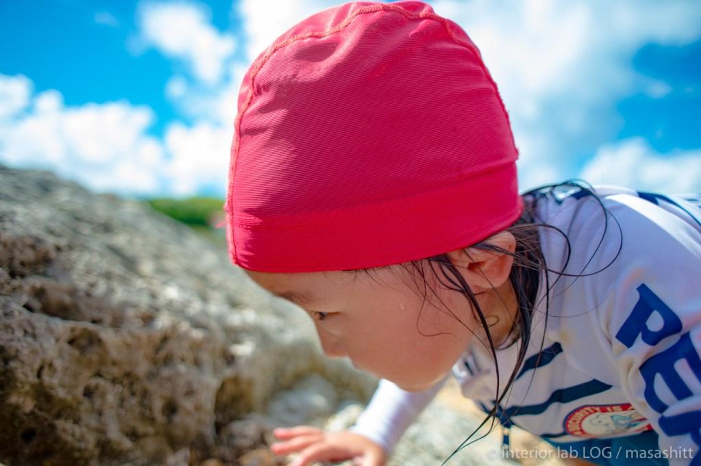 子供の冒険 沖縄 海