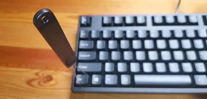 付属品のキートップ外し工具