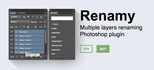 Plugin terbaik 2014 untuk Photoshop - 19 plugin terbaik 2014 untuk Photoshop - Renamy-plugin-photoshop