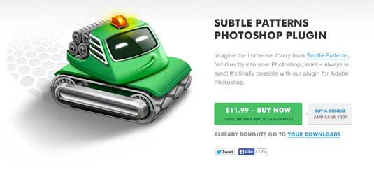 Plugin terbaik 2014 untuk Photoshop - 19 plugin terbaik 2014 untuk Photoshop - Subtle-Patterns-plugin-photoshop
