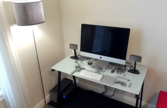 Desain Ruang Kerja Pengguna Macintosh - Ruang kerja pengguna Apple Mac Computer - Johnf1285