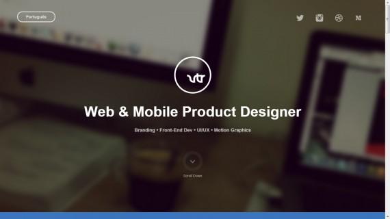 Website Portofolio Terbaik dengan Desain Keren - Website-Portofolio-Terbaik-dengan-Desain-Keren-Vitor