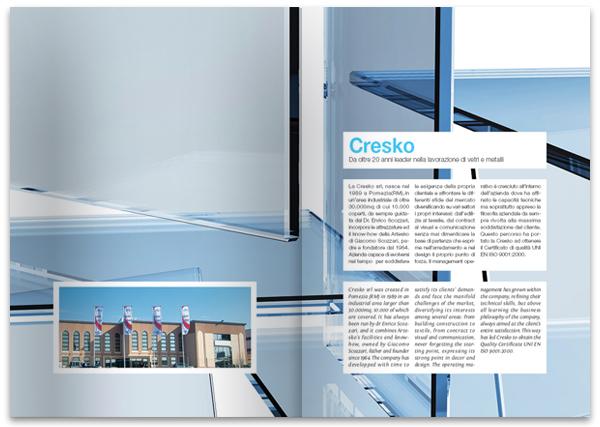 Desain brosur perusahaan