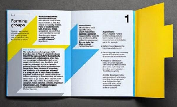 Contoh desain brosur desain kreatif - Learning & Teaching 3