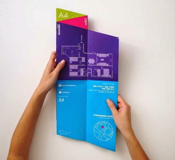 Contoh desain brosur desain kreatif - Real Estate Company 5